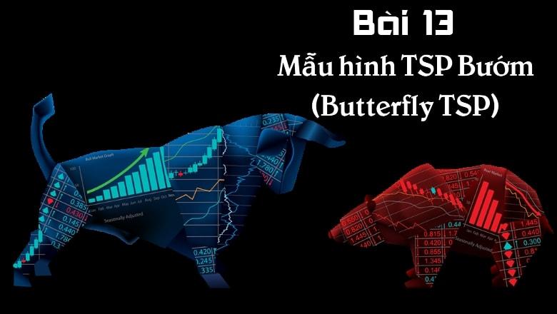 Hướng dẫn xác định và sử dụng mẫu hình TSP bướm trong giao dịch