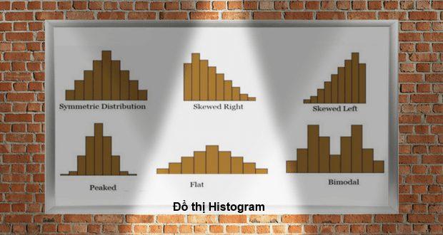 Đồ thị histogram về dạng phân phối của dữ liệu