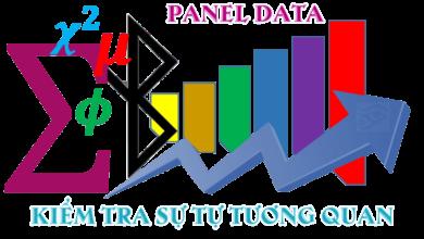 Photo of Kiểm tra sự tự tương quan dữ liệu bảng