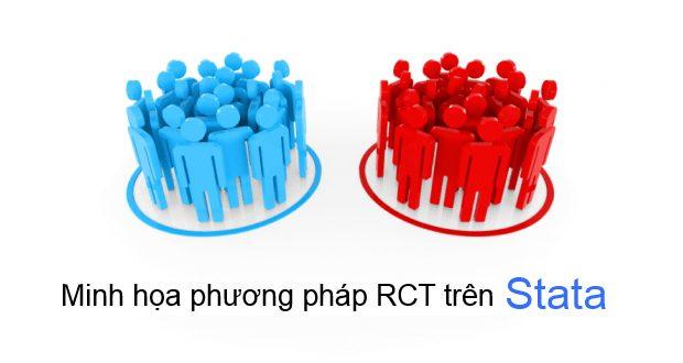 Minh họa thực hành phương pháp RCT trên Stata