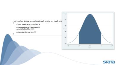 Hướng dẫn tính tích phân các hàm đại số qua lớp Quadrature() trên Mata của Stata 16